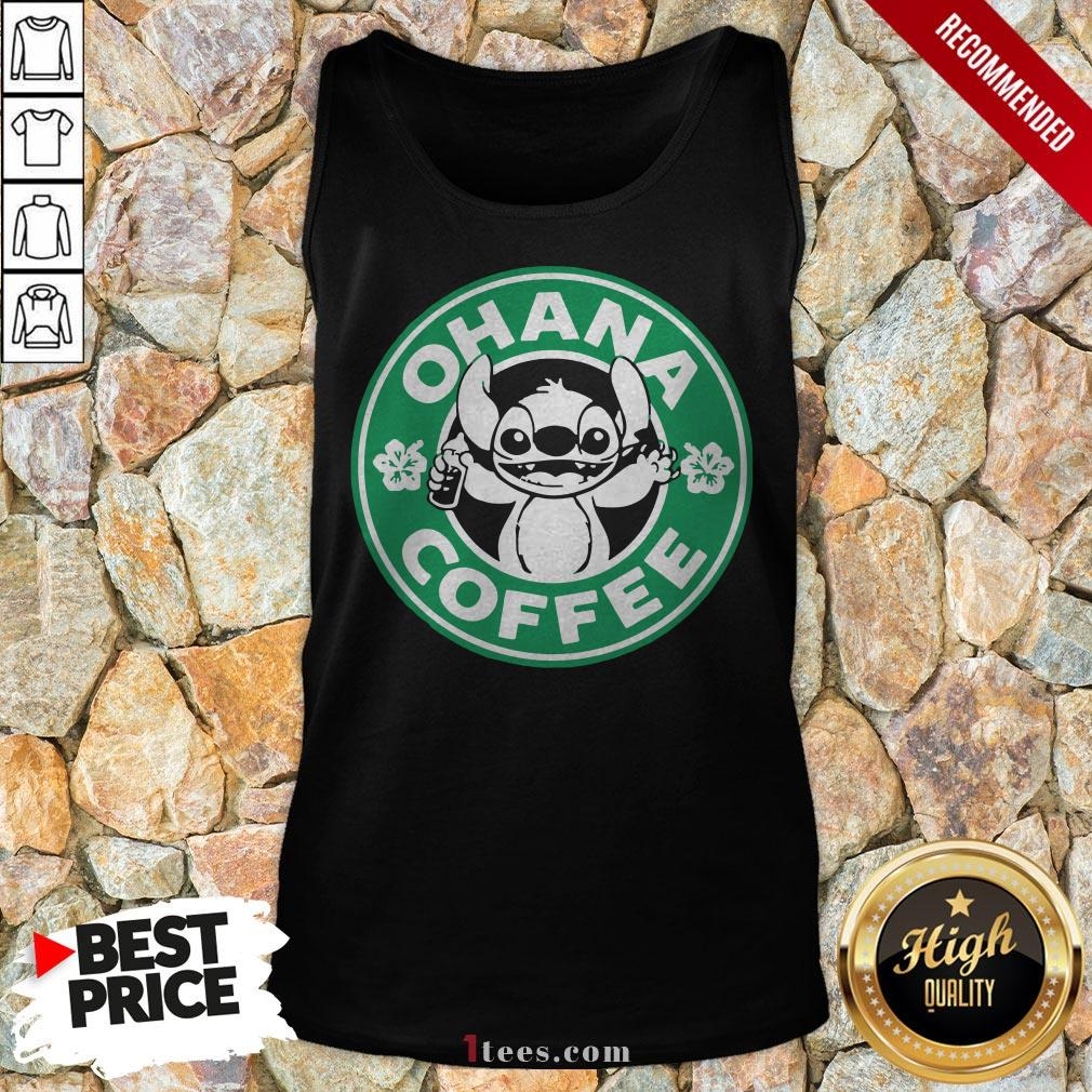 Starbucks Stitch Ohana Coffee Logo Tank Top