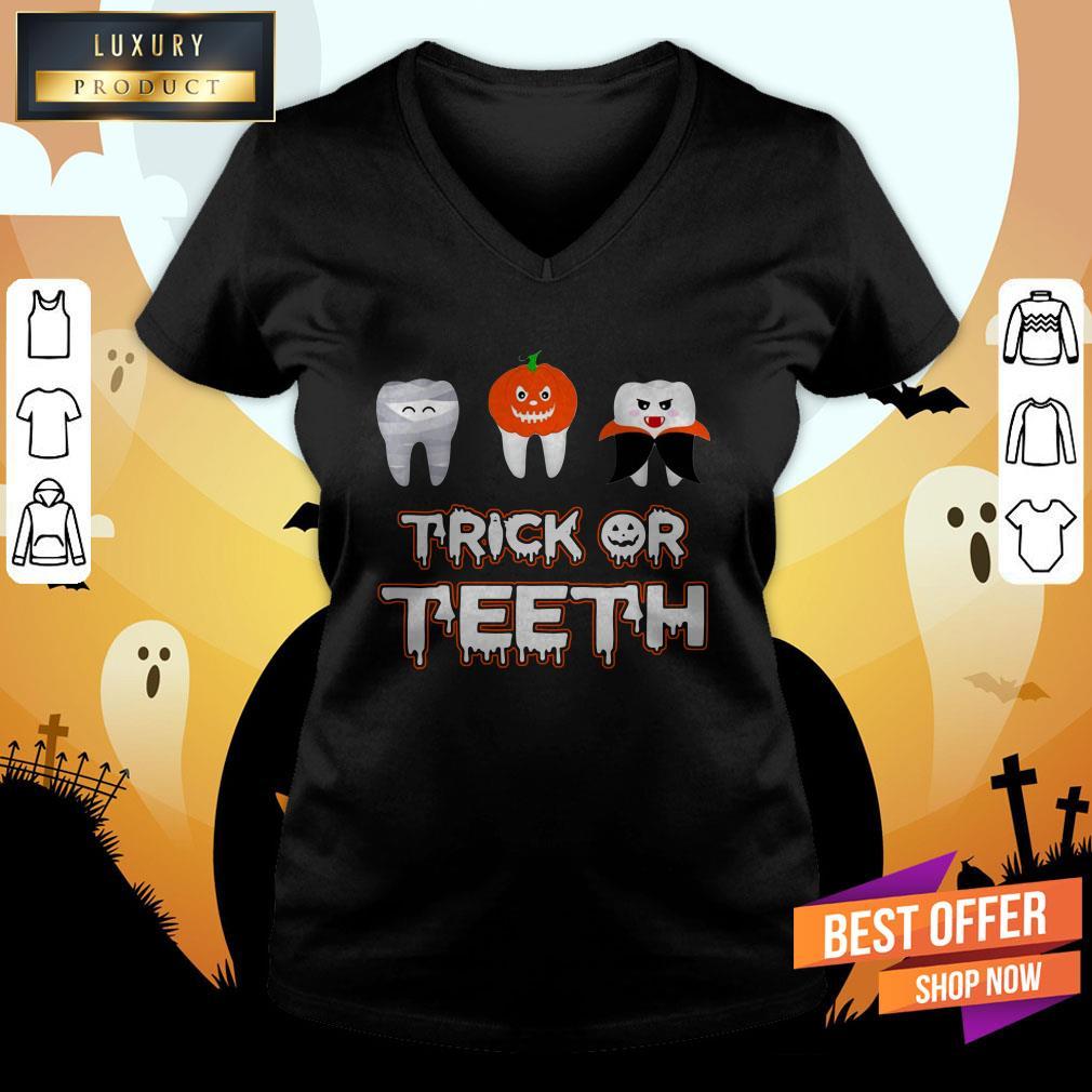 Trick Or Teeth Halloween