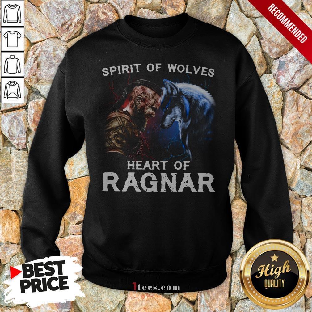 Viking Bjorn Lothbrok Spirit Of Wolves Heart Of Ragnar Sweatshirt