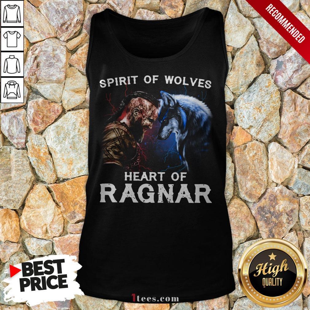 Viking Bjorn Lothbrok Spirit Of Wolves Heart Of Ragnar Tank Top