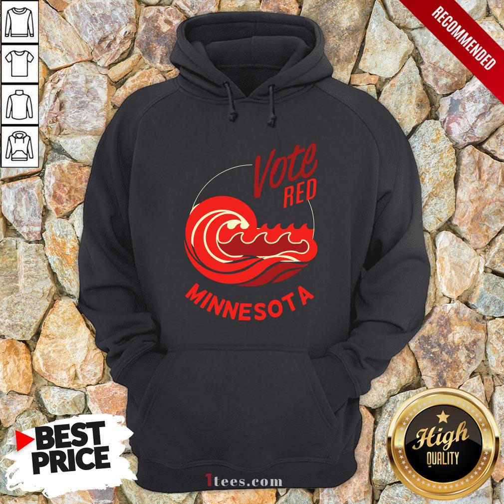 Vote Red Minnesota Republicans Election 2020 Hoodie