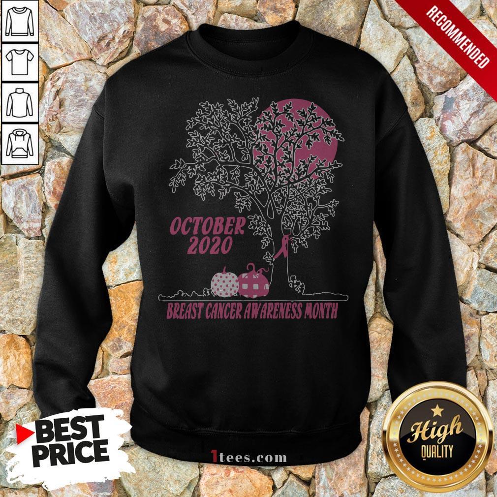 Women'S October 2020 Breast Cancer Awareness Month Sweatshirt