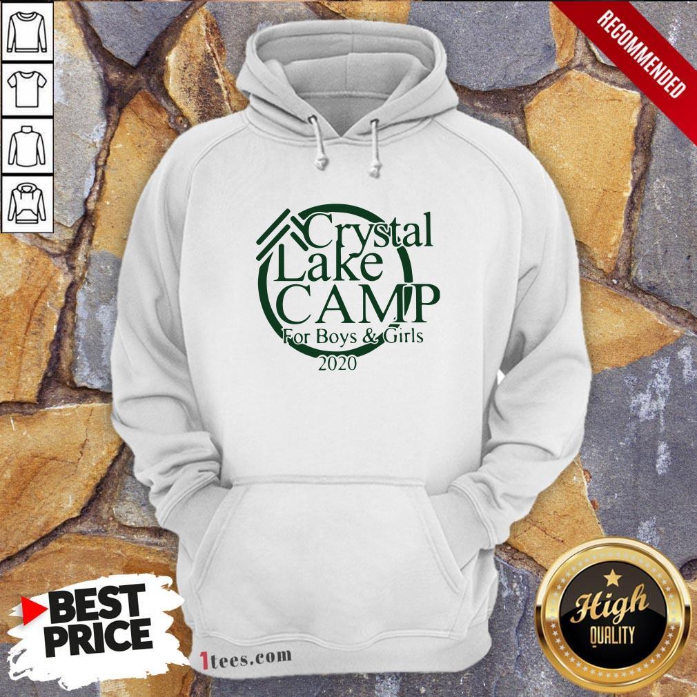 Awesome Camp Crystal Lake Hoodie Design By T-shirtbear.com