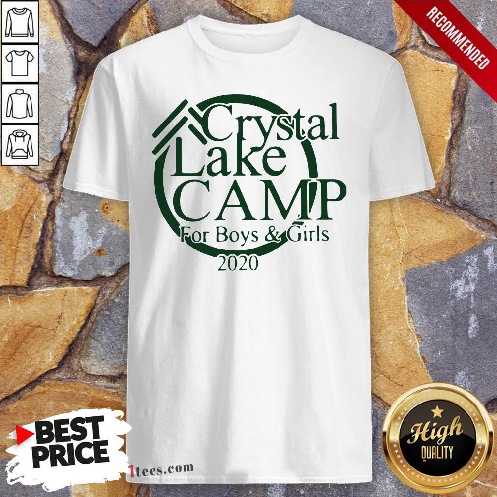 Awesome Camp Crystal Lake Shirt Design By T-shirtbear.com
