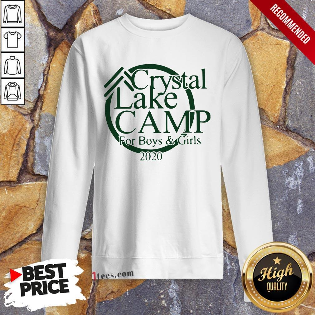 Awesome Camp Crystal Lake Sweatshirt Design By T-shirtbear.com