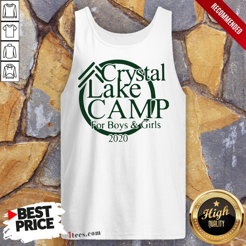 Awesome Camp Crystal Lake Tank Top Design By T-shirtbear.com