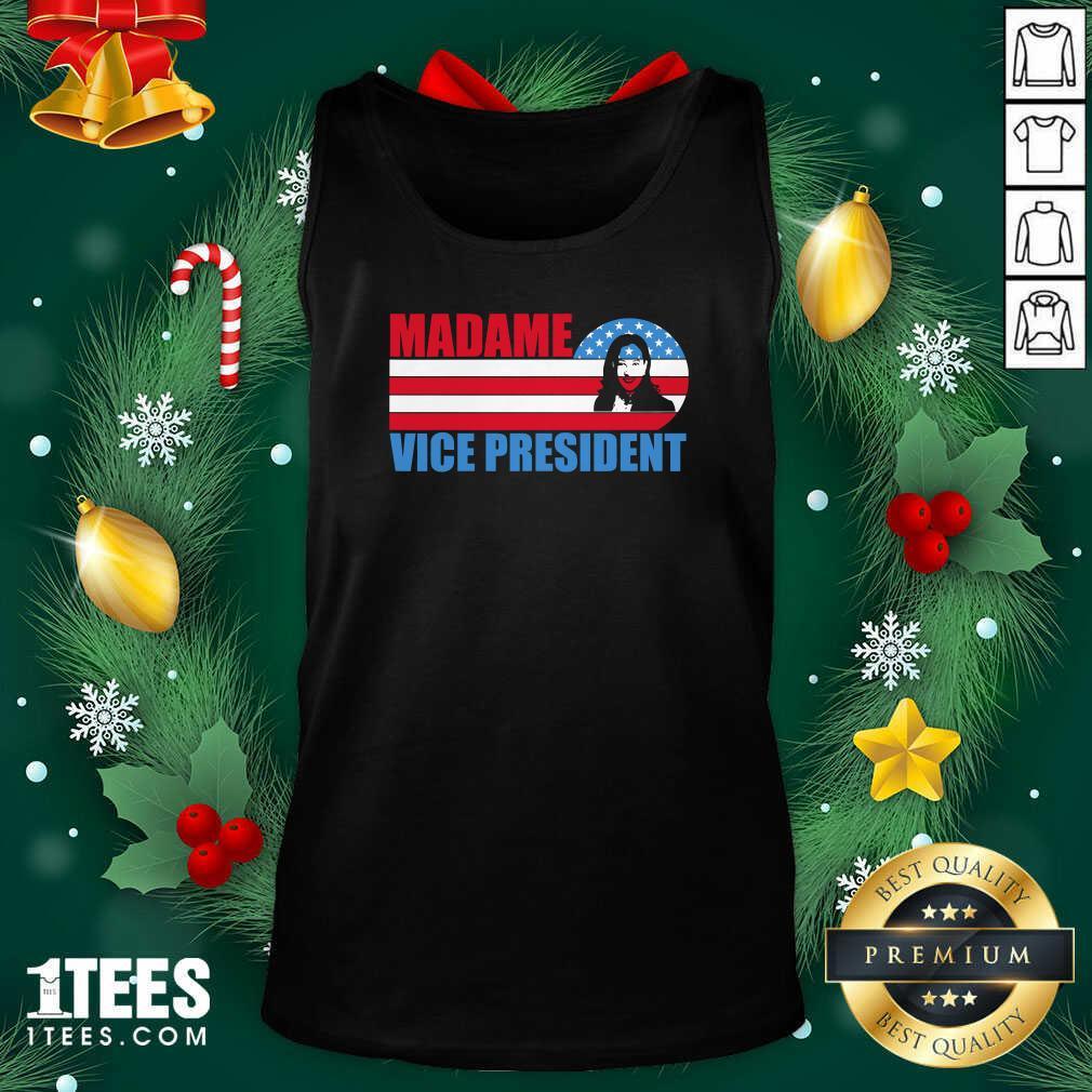 Better Madame Vice President Vp Kamala Harris Election 2020 American Flag Tank Top- Design By 1Tees.com