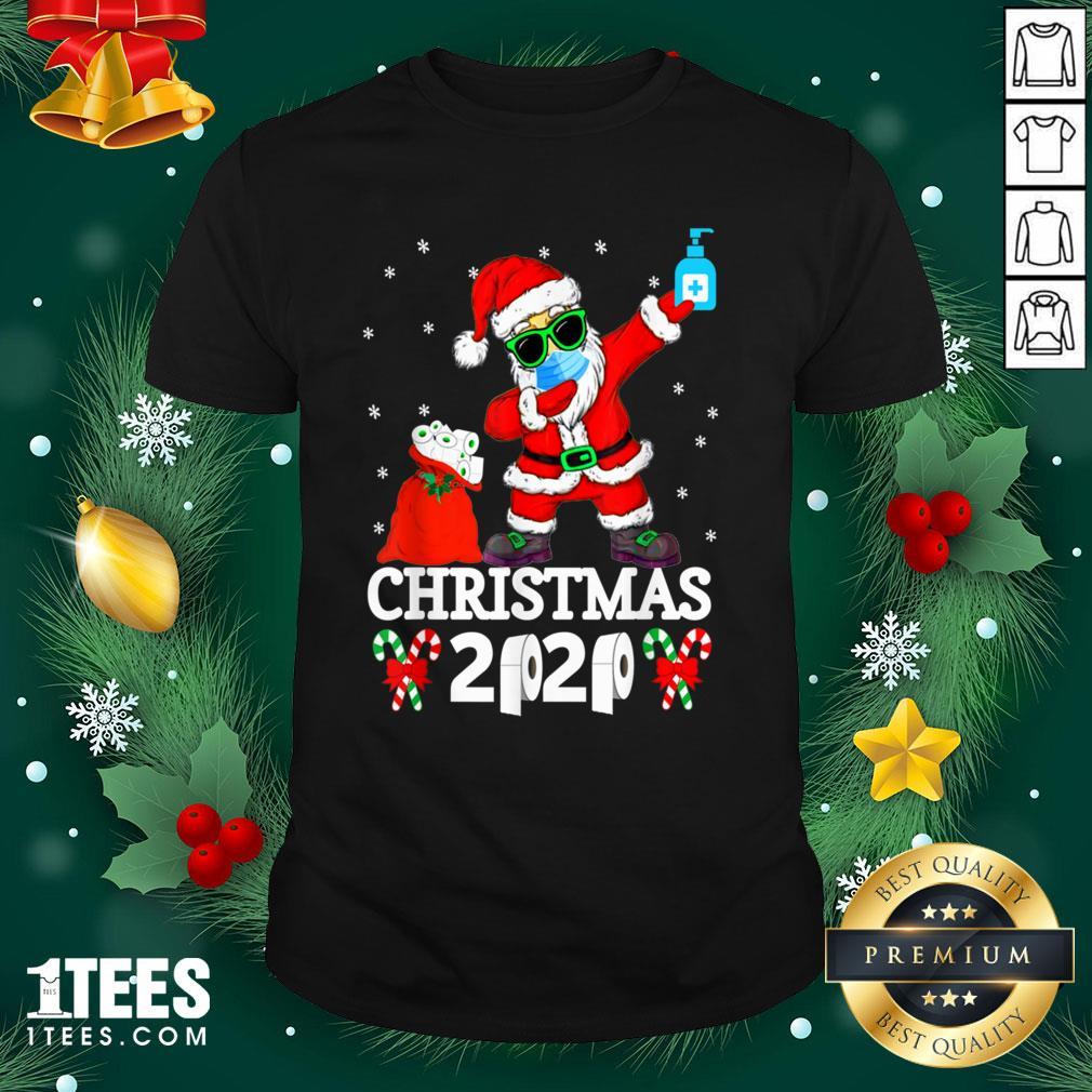 Cool Santa Dabbing Christmas 2020 Shirt - Cool Santa Dabbing Christmas 2020 Hoodie - Design By 1tee.com