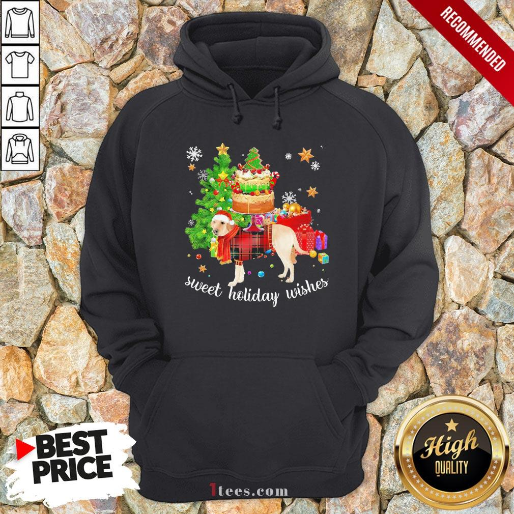 Funny Golden Santa sweet holiday wishes Christmas 2020 Hoodie Design By T-shirtbear.com