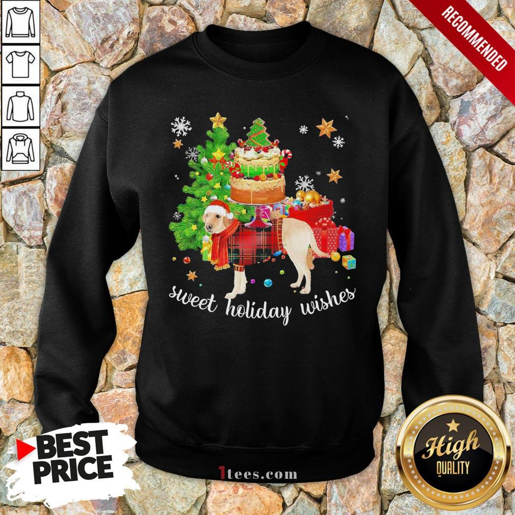 Funny Golden Santa sweet holiday wishes Christmas 2020 Sweatshirt Design By T-shirtbear.com