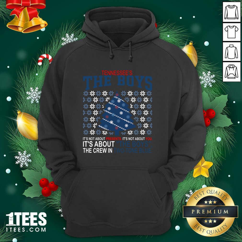 Tennessee's The Boys Merry Christmas Hoodie- Design By 1Tees.comFunny Tennessee's The Boys Merry Christmas Hoodie