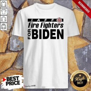 Good Iaff firefighters for biden shirt Design By T-shirtbear.com