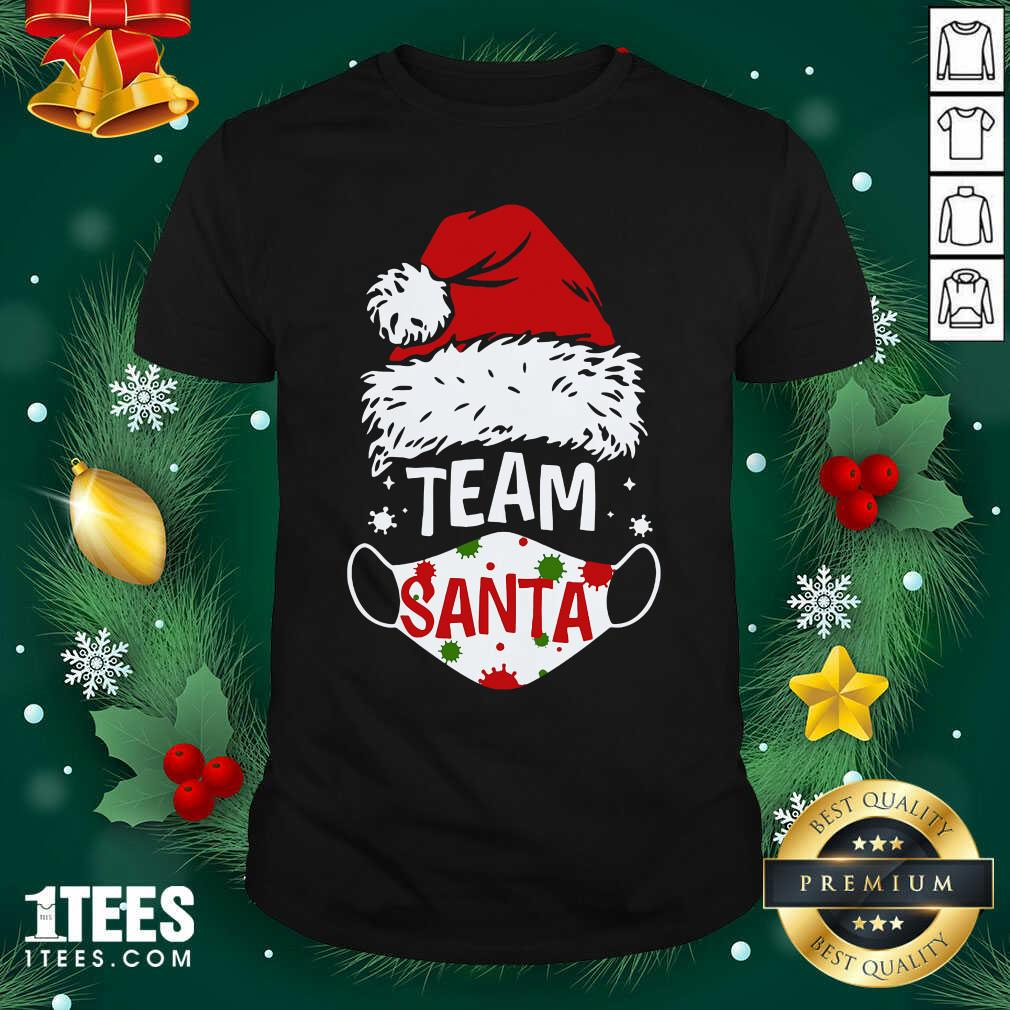 Team Santa Face Mask Christmas 2020 Cost Shirt- Design By 1Tees.comGood Team Santa Face Mask Christmas 2020 Cost Shirt
