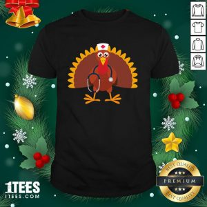 Happy Nurse Thanksgiving 2020 Turkey Wearing Mask Shirt - Design By 1tee.com