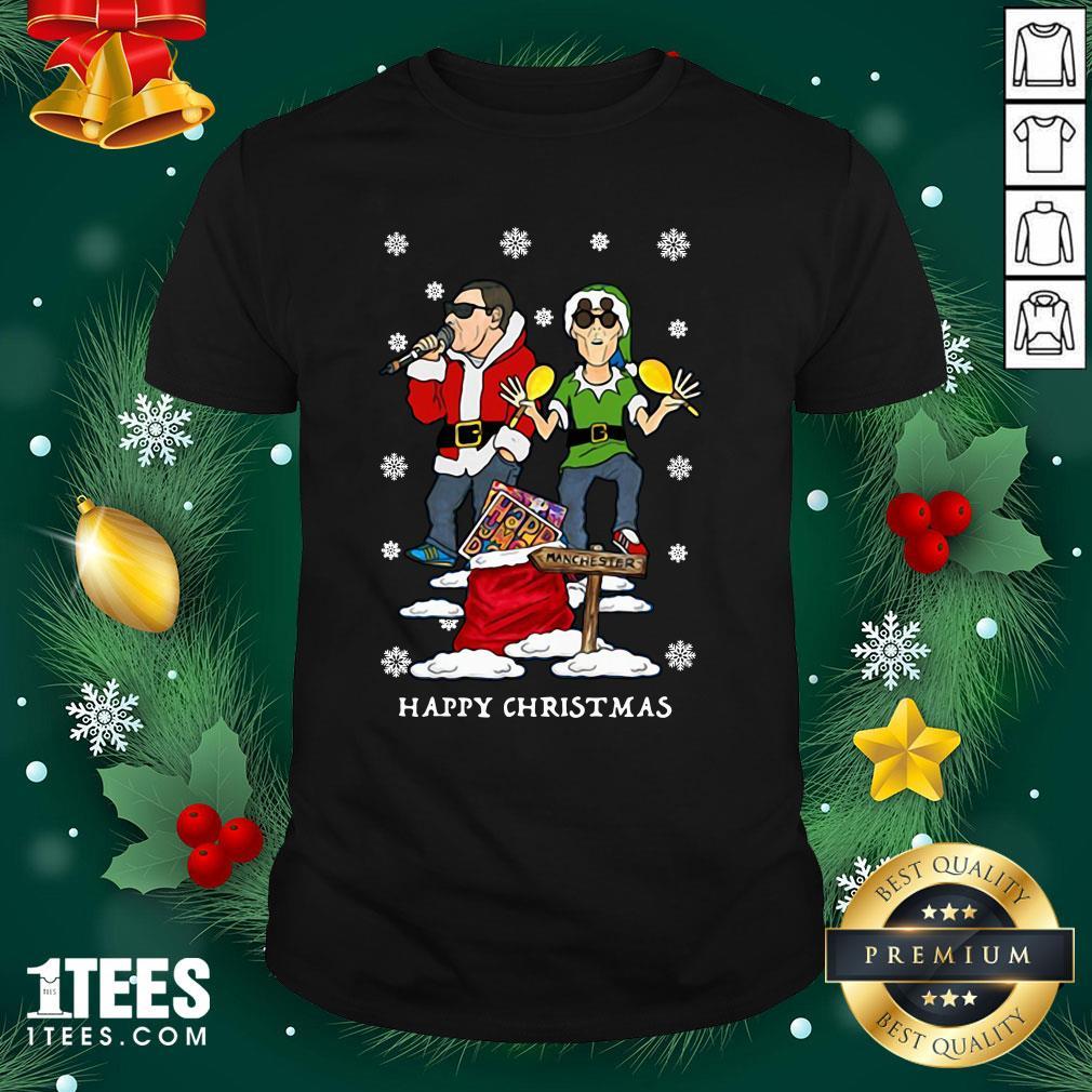 Hot Happy Mondays Christmas Jumper Sweat Shirt - Design By 1tee.com