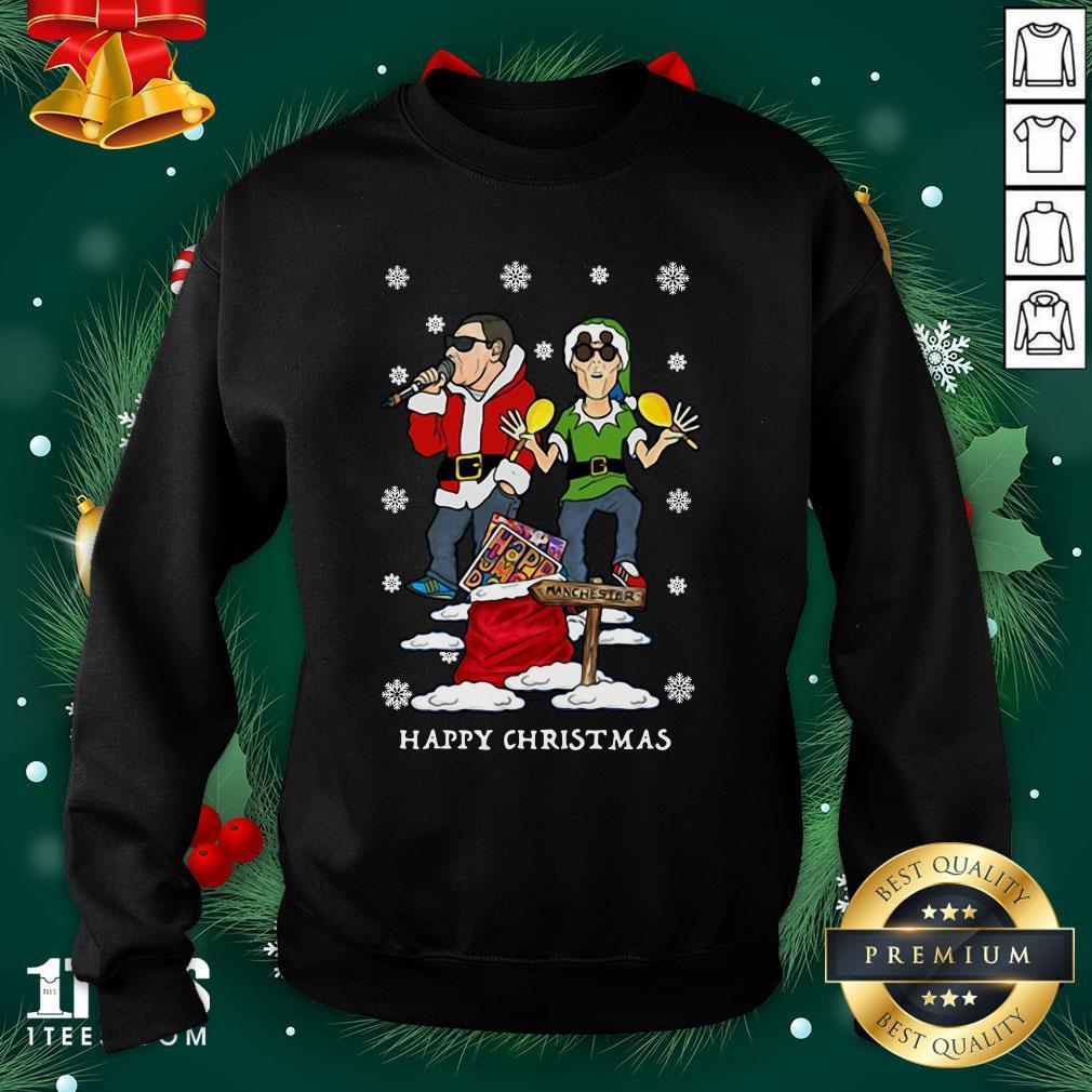 Hot Happy Mondays Christmas Jumper Sweat Sweatshirt - Design By 1tee.com
