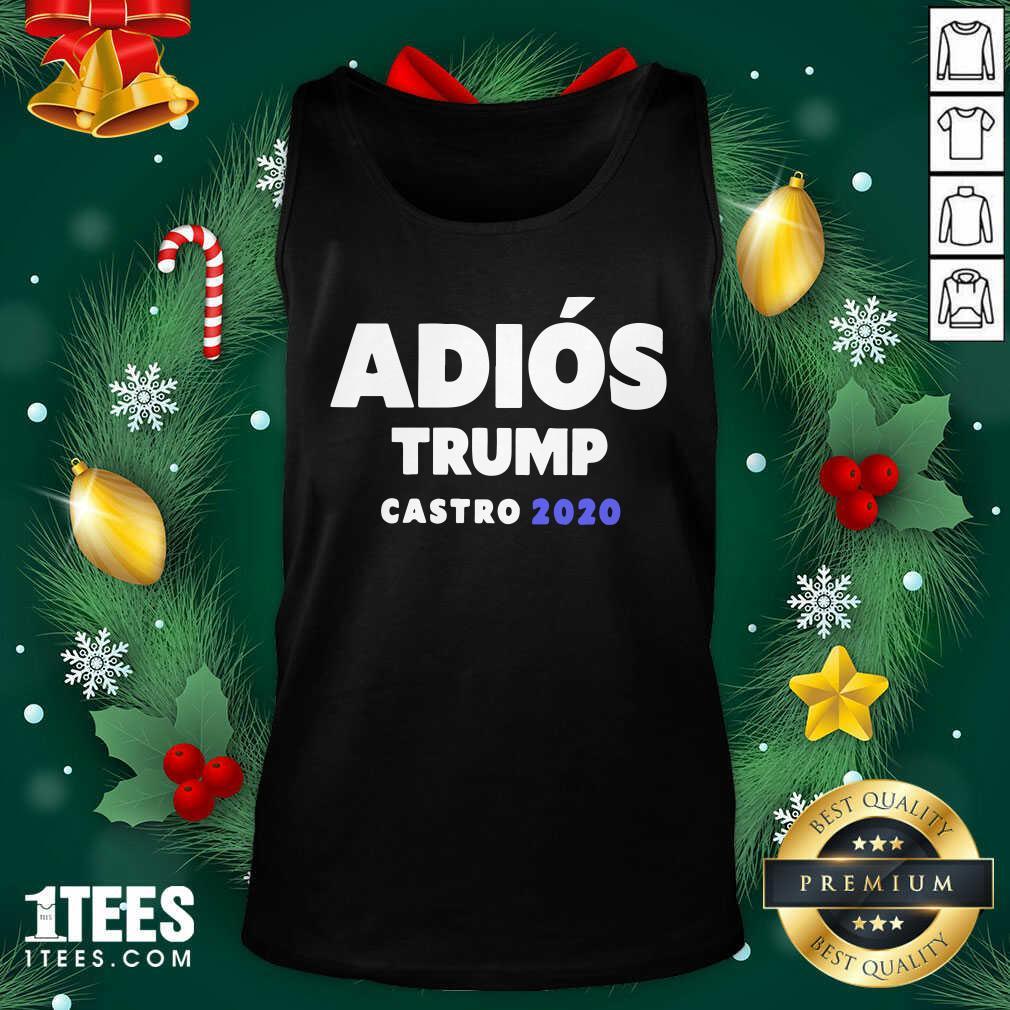Adios Trump Castro 2020 Tank Top - Design By 1tees.com