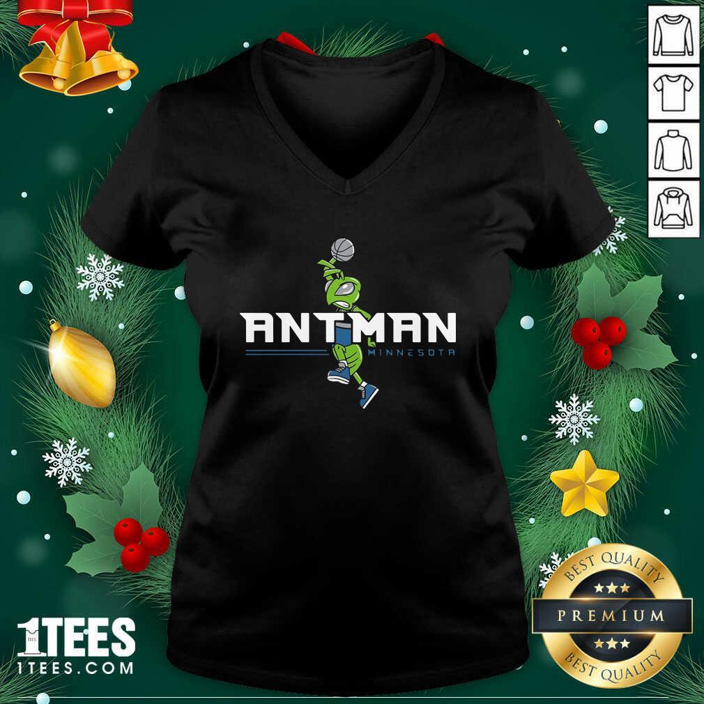 Ant Man Minnesota Basketball V-neck - Design By 1tees.com