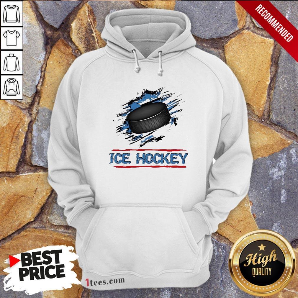 Perfect Ice Hockey Hoodie Design By T-shirtbear.com