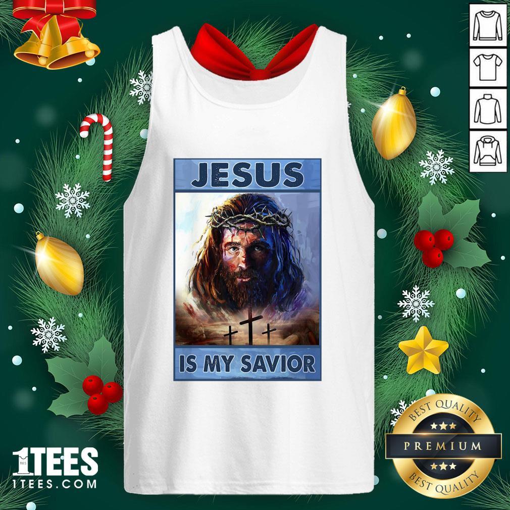 Premium Jesus Is My Savior Tank Top - Design By 1tee.com