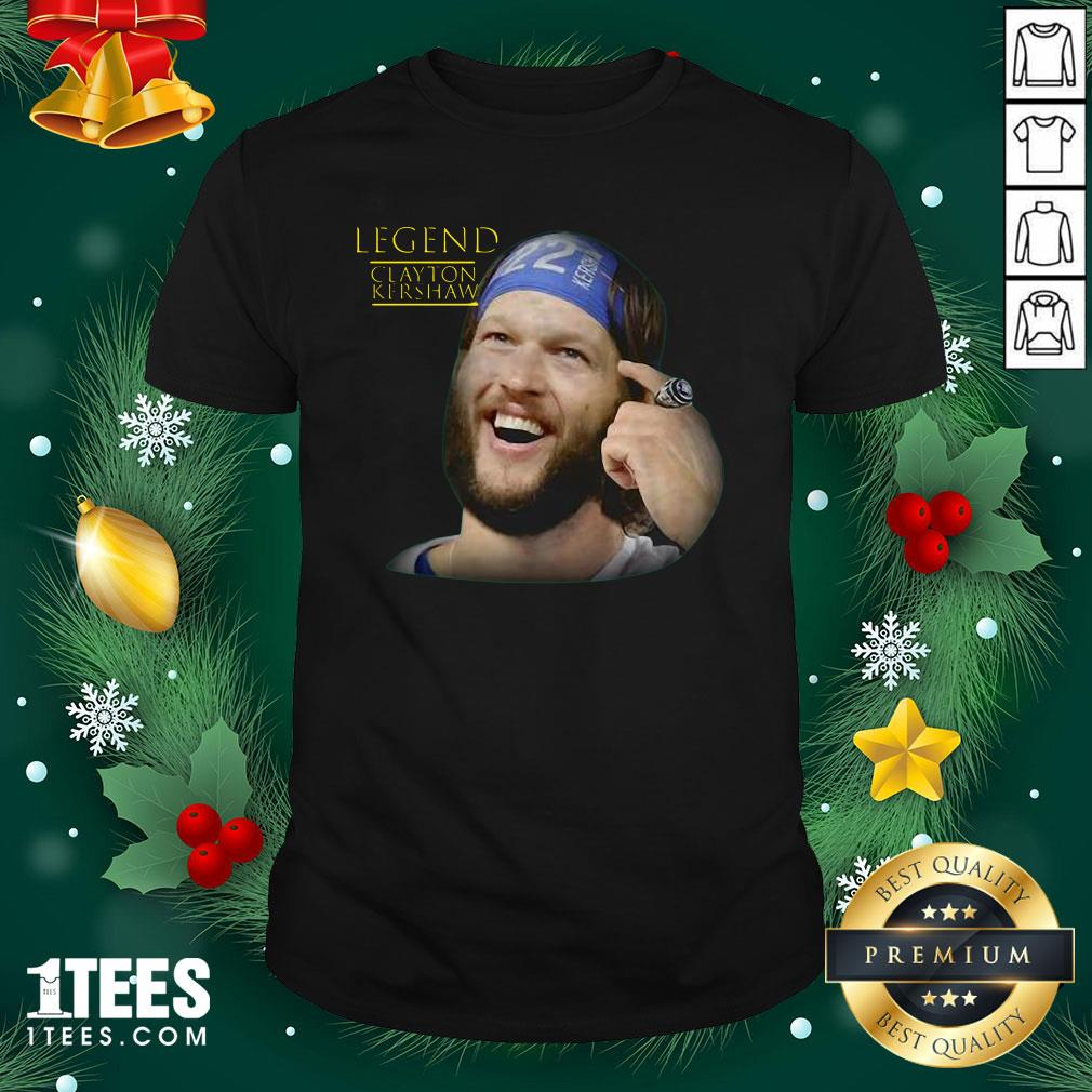 Pretty Legend Clayton Kershaw Shirt - Design By 1tee.com