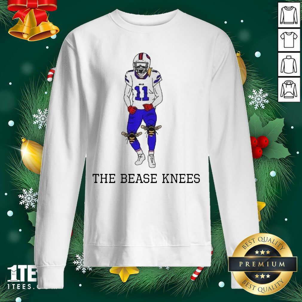 Buffalo Bills Cole Beasley The Bease Knees Sweatshirt- Design By 1Tees.com