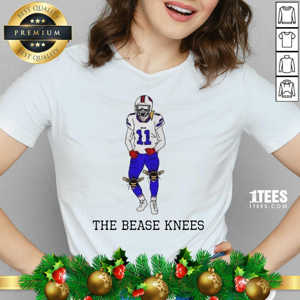 Buffalo Bills Cole Beasley The Bease Knees V-neck- Design By 1tees.com