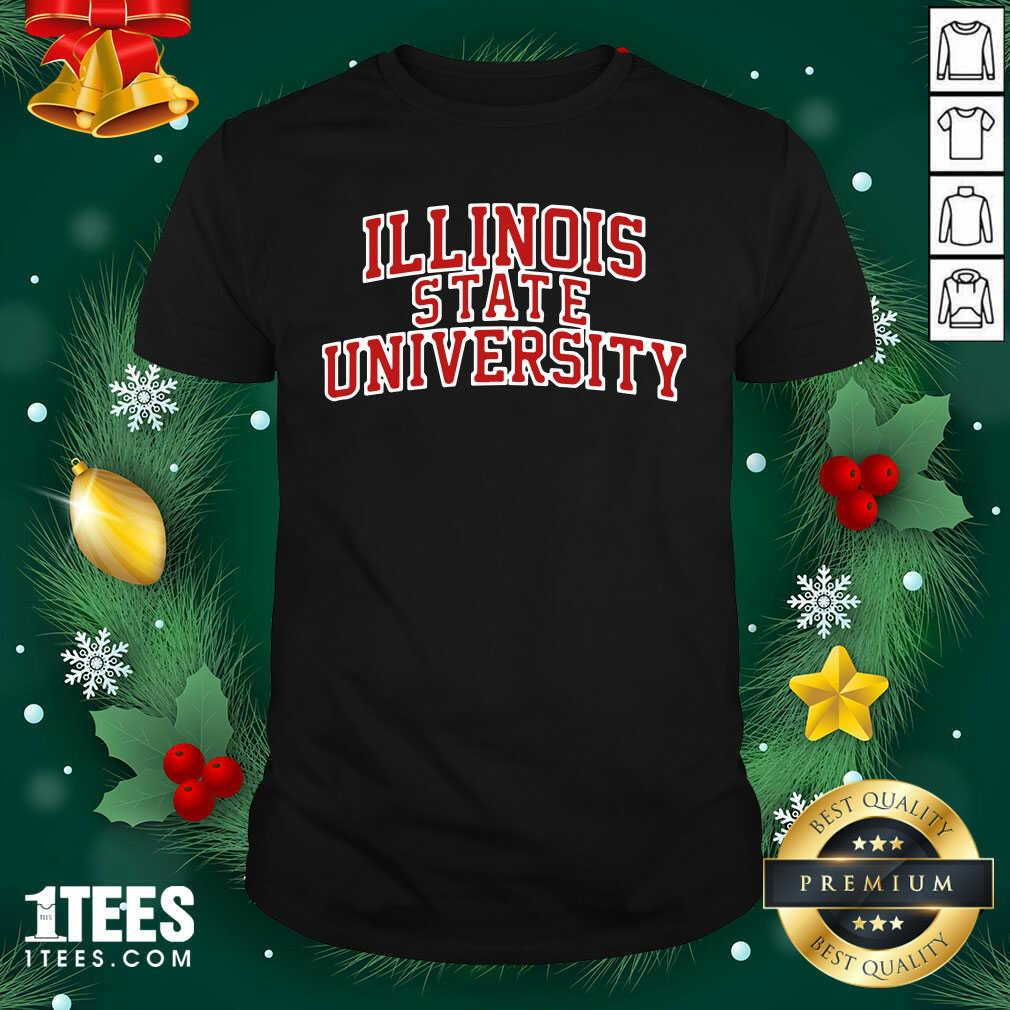 Illinois State University Red Shirt- Design By 1tees.com