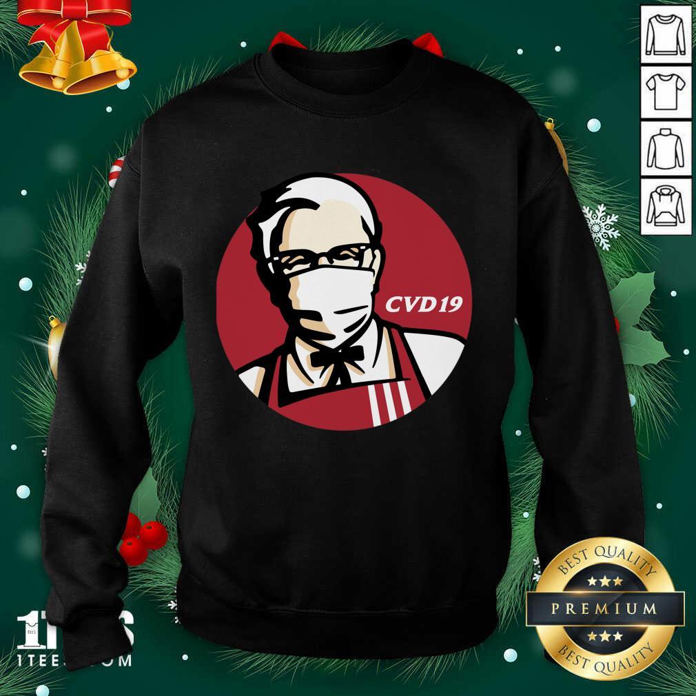 KFC Cvd 19 Sweatshirt- Design By 1tees.com