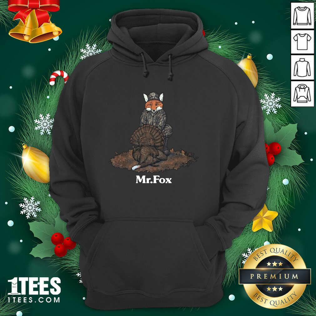 Mr Fox Hoodie- Design By 1tees.com