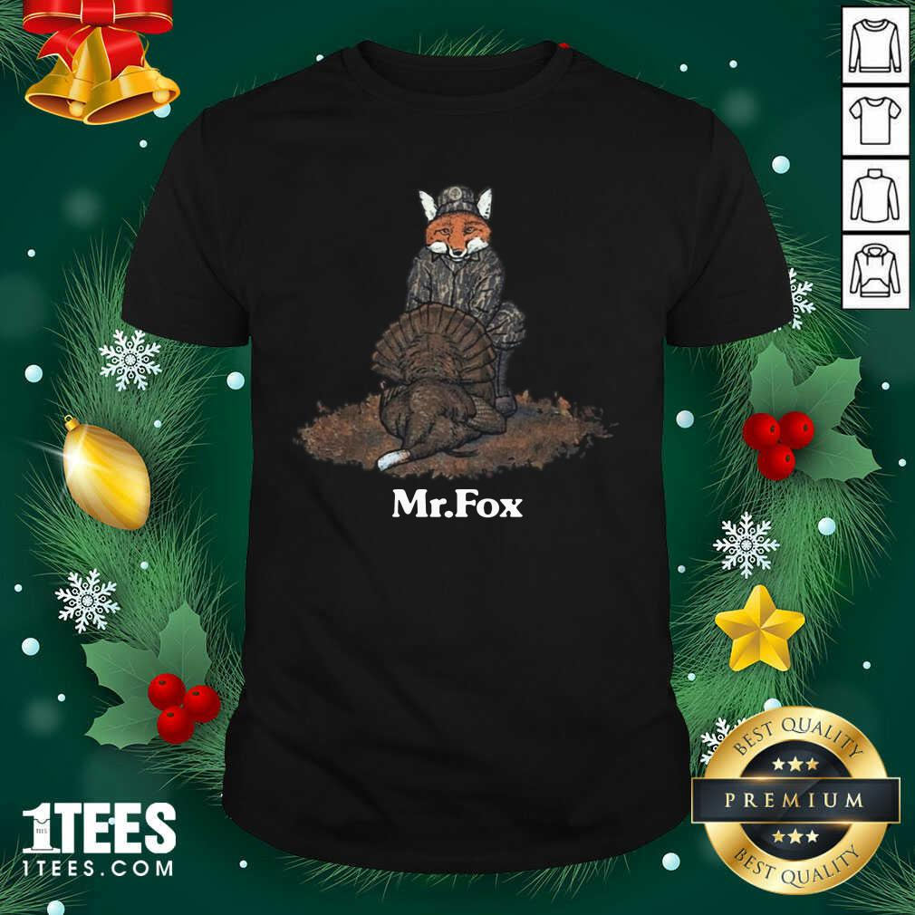 Mr Fox Shirt- Design By 1tees.com