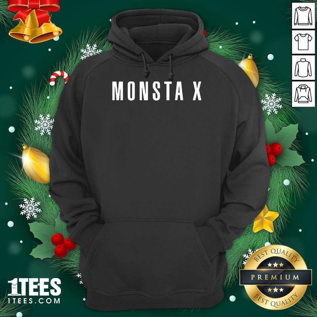 Monsta X Merch Monsta X Llogo Hoodie- Design By 1tees.com