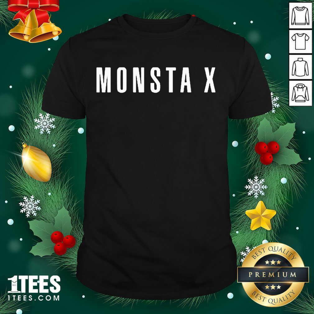 Monsta X Merch Monsta X Llogo Shirt- Design By 1tees.com