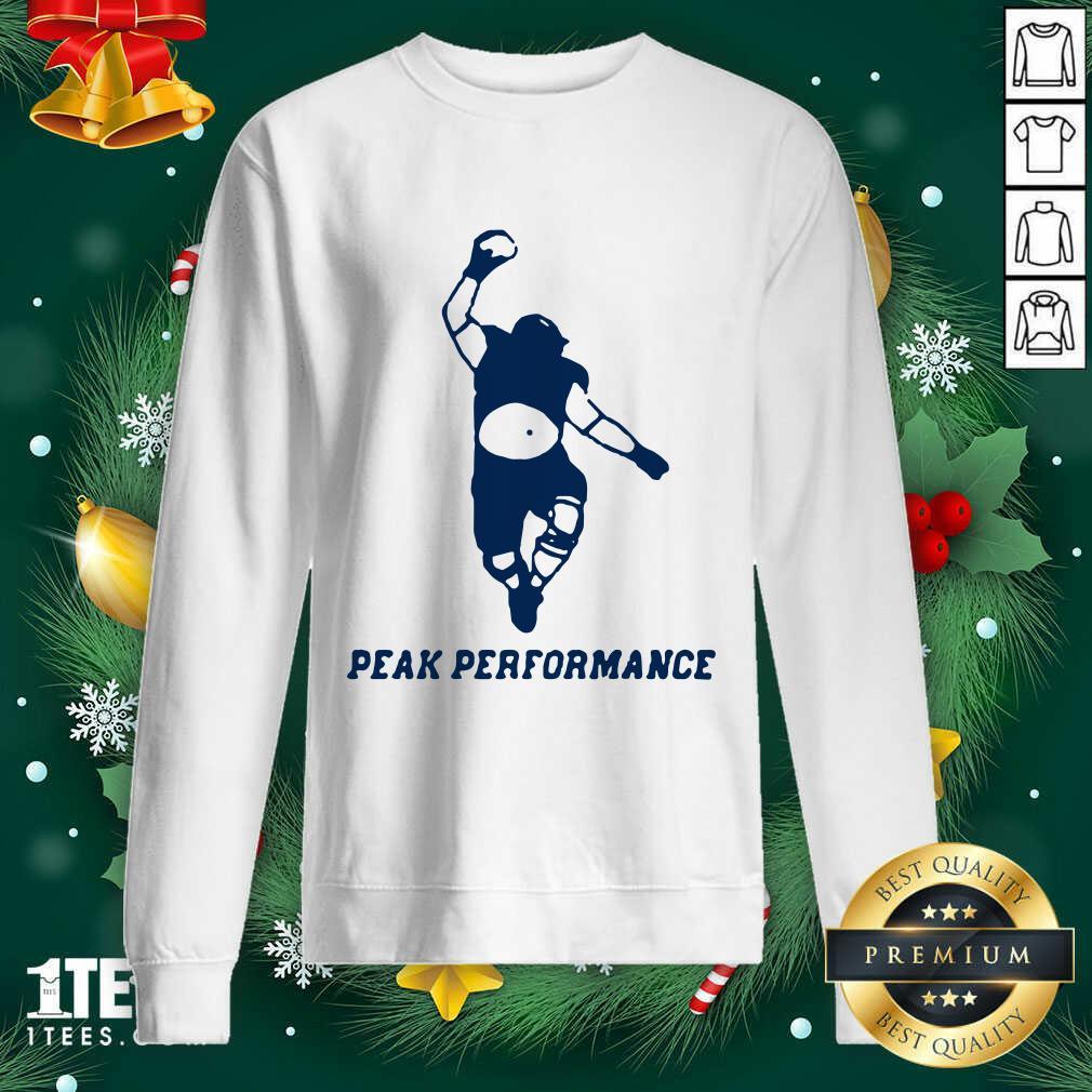 Peak Performance 2020 Sweatshirt- Design By 1Tees.com