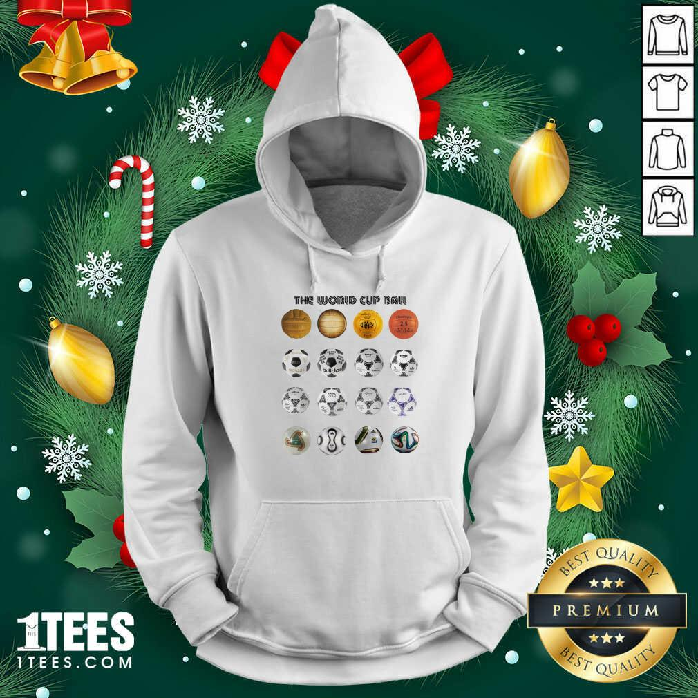 Soccer The World Cup Ball Vertical Hoodie- Design By 1Tees.com