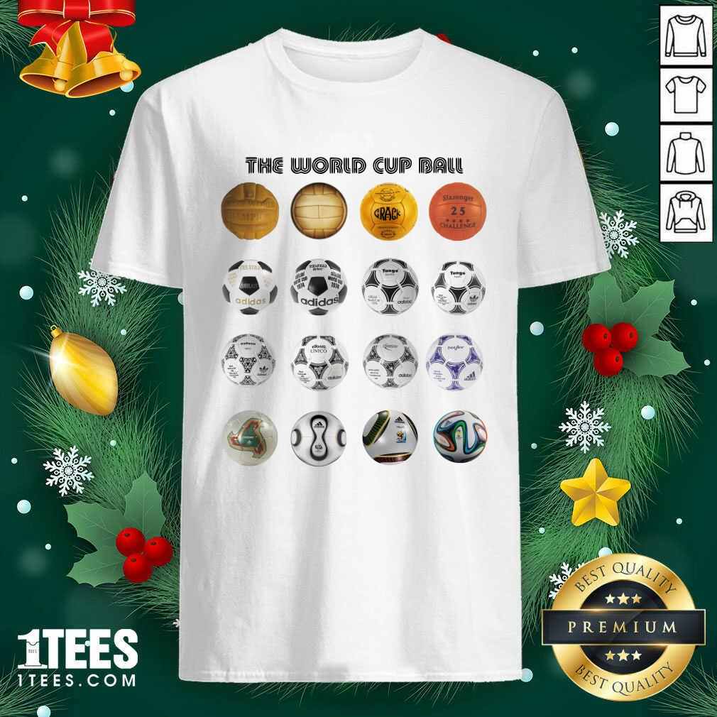 Soccer The World Cup Ball Vertical Shirt- Design By 1tees.com