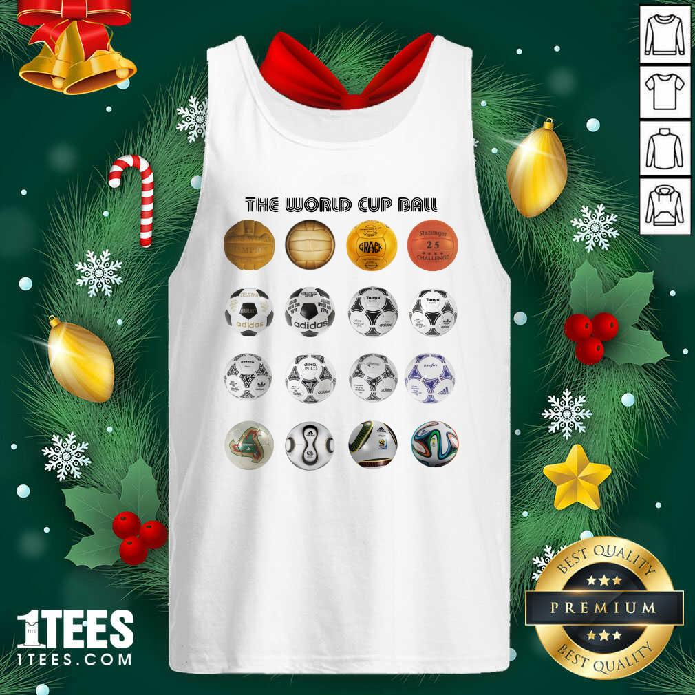 Soccer The World Cup Ball Vertical Tank Top- Design By 1tees.com