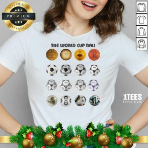 Soccer The World Cup Ball Vertical V-neck- Design By 1tees.com