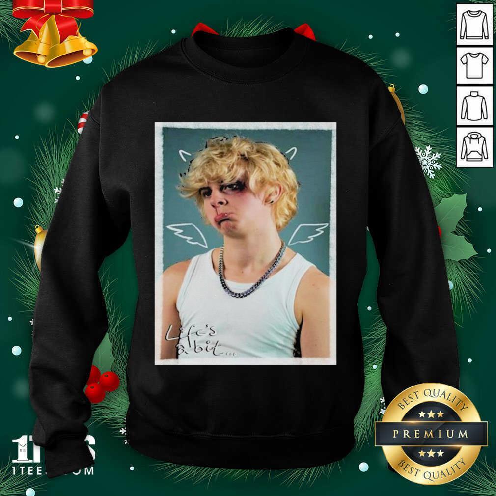 Noahfinnce Merch Noahfinnce Merch Life's A Bit Portrait Sweatshirt- Design By 1tees.com