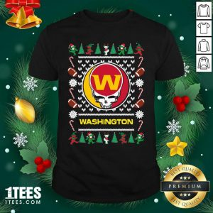 Washington Football Team Grateful Dead Ugly Christmas Shirt- Design By 1tees.com