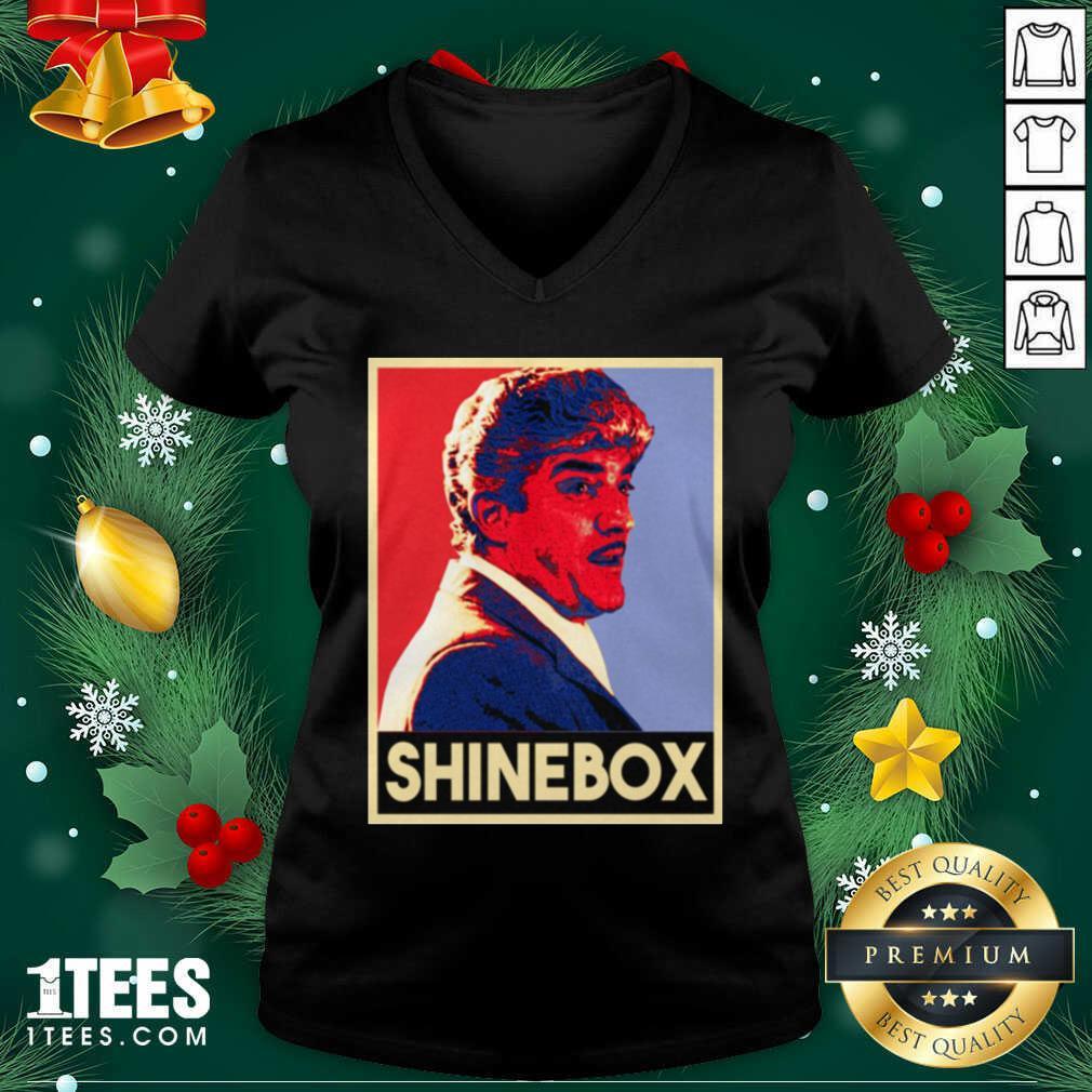 Shinebox Goodfellas Gangster Billy Batts V-neck- Design By 1Tees.com