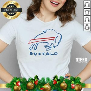 Buffalo Bills V-neck- Design By 1Tees.com