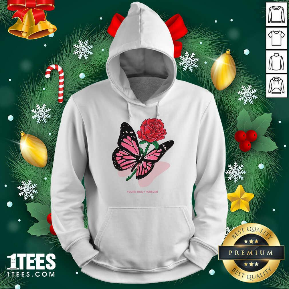 Phora Merch Butterfly Love Song Pink Hoodie- Design By 1Tees.com