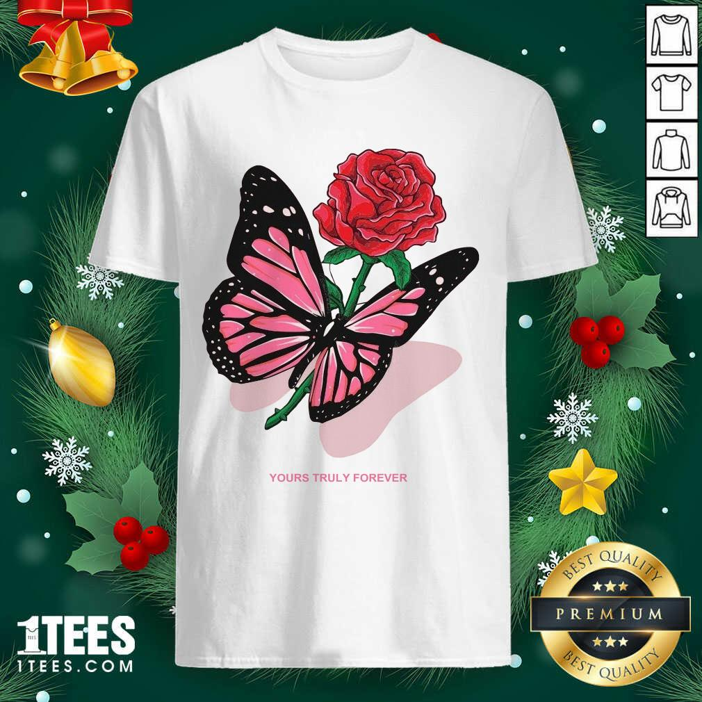 Phora Merch Butterfly Love Song Pink Shirt- Design By 1tees.com
