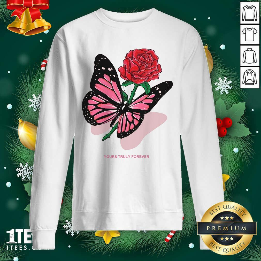 Phora Merch Butterfly Love Song Pink Sweatshirt- Design By 1tees.com
