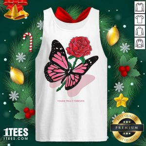 Phora Merch Butterfly Love Song Pink Tank Top- Design By 1tees.com