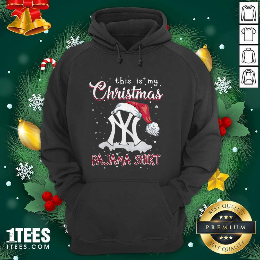 This is My Christmas Pajama New York Yankees Hoodie- Design By 1Tees.com