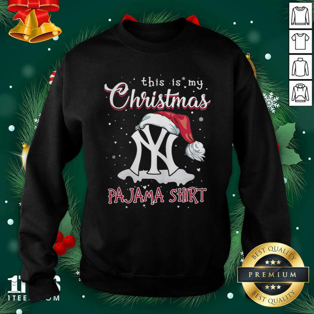 This is My Christmas Pajama New York Yankees Sweatshirt- Design By 1Tees.com