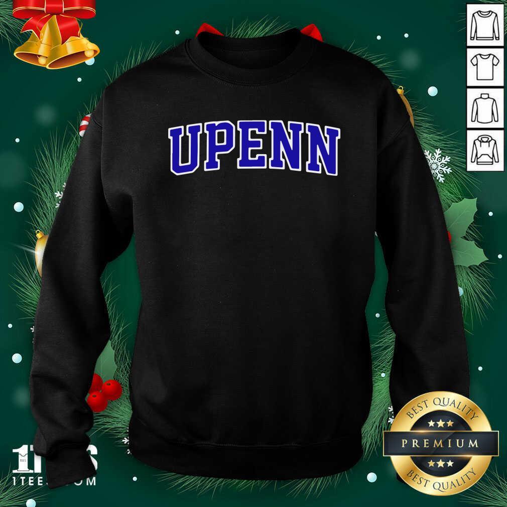 University Of Upenn Sweatshirt- Design By 1tees.com