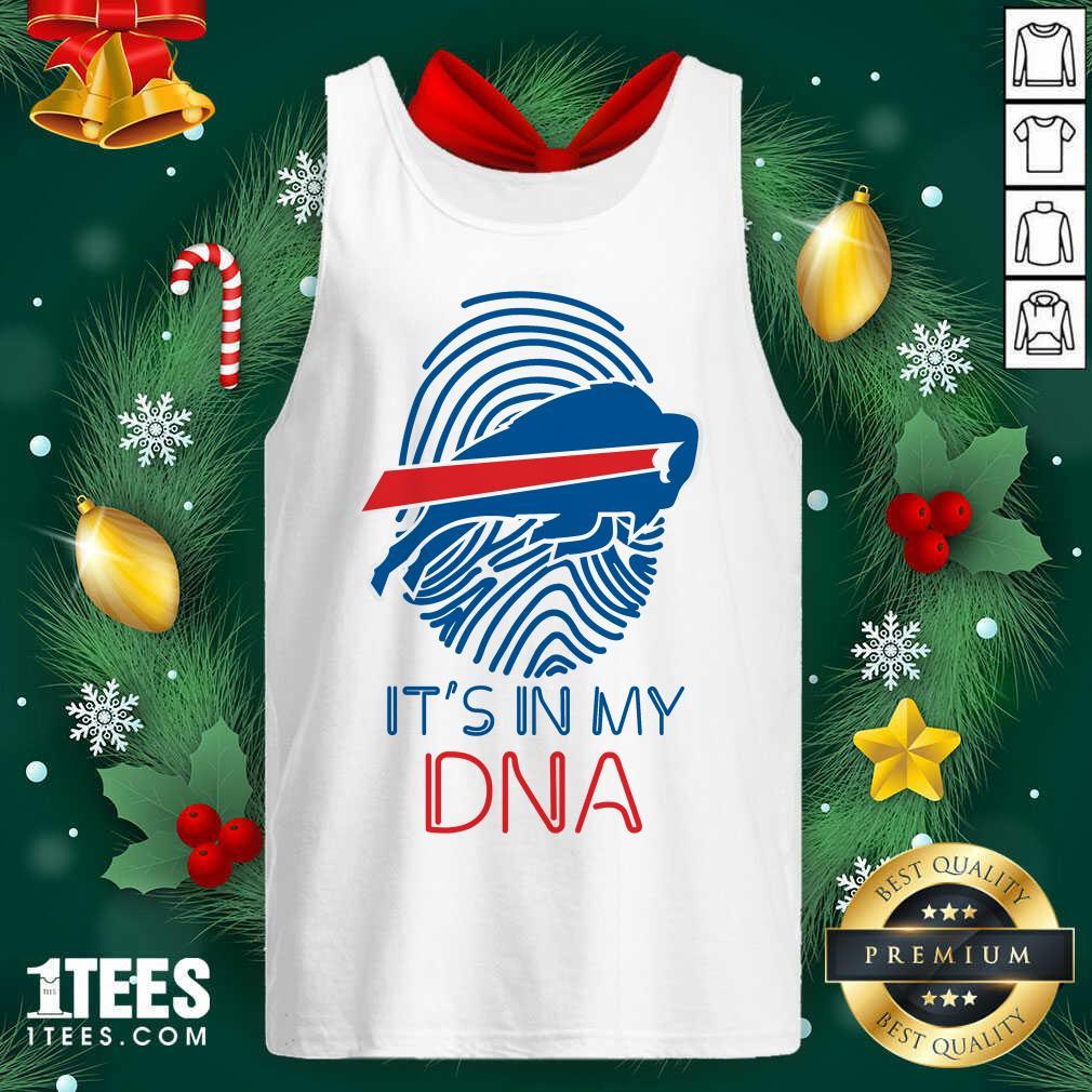Buffalo Bills Mafia It's In My DNA Tank Top- Design By 1Tees.com
